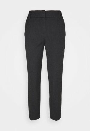 SLFRIA CROPPED PANT - Kalhoty - black/melange