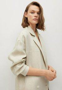 Mango - Classic coat - beige - 4
