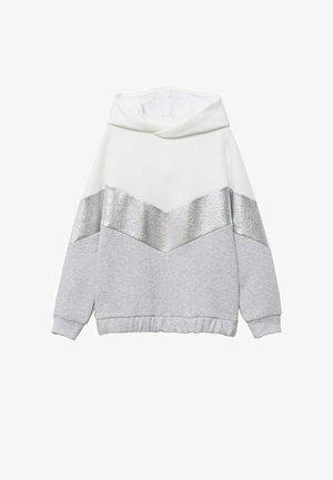 GECOMBINEERD METALLIC - Sweater - gebroken wit