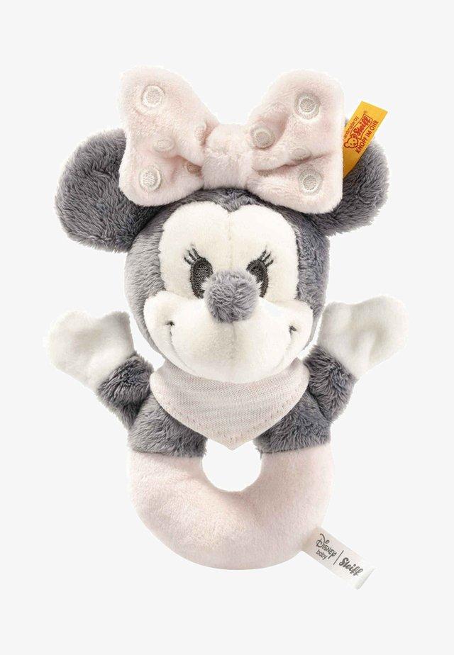 Cuddly toy - grey / pink / white