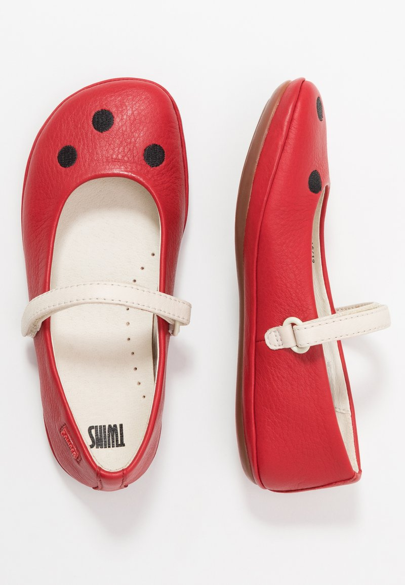 Camper - RIGHT KIDS TWINS - Ballerina's met enkelbandjes - red