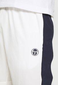 Sergio Tacchini - TENNIS YOUNGLINE SHORTS - Sports shorts - blanc de blanc/night sky - 4