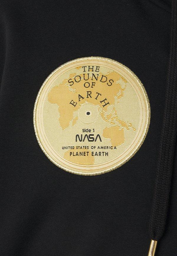 Alpha Industries NASA VOYAGER HOODY - Bluza - black/czarny Odzież Męska BYYO