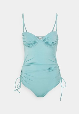 TANJA WIRE SWIMSUIT - Swimsuit - blue