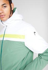 Head - ALPINE JACKET  - Skijakke - forest green/white - 3
