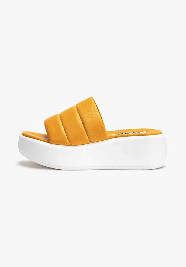 Pantoffels - orange