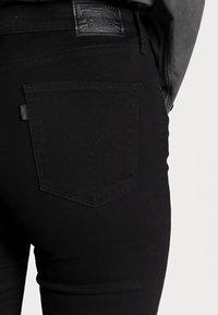 Levi's® - 724 HIGH RISE - Jeans straight leg - black sheep - 4