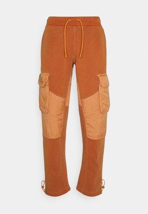WASHED - Pantalon de survêtement - monarch/black