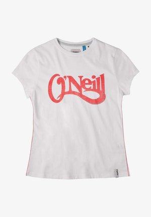 Print T-shirt - super white
