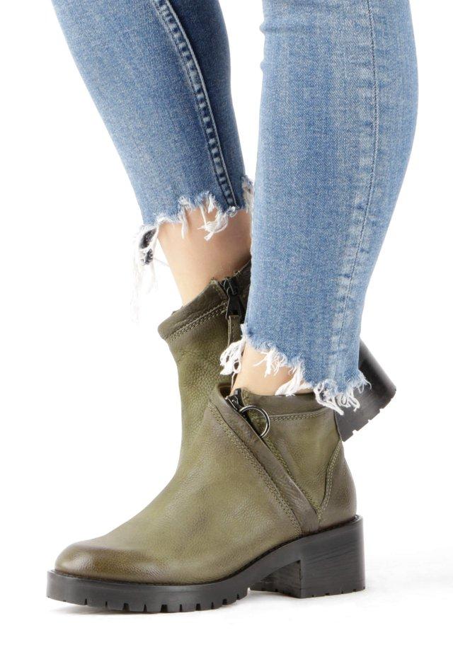 Ankle boots - safari