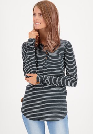 DAISYAK - Long sleeved top - indigo