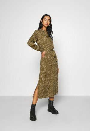ELFRITSA - Shirt dress - dark olive