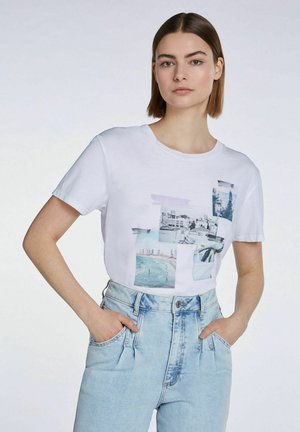 FOTOMOTIV - T-shirt print - bright white