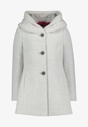 Short coat - light silver melange