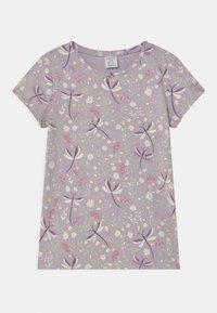 Lindex - MINI 2 PACK - Print T-shirt - light lilac - 2