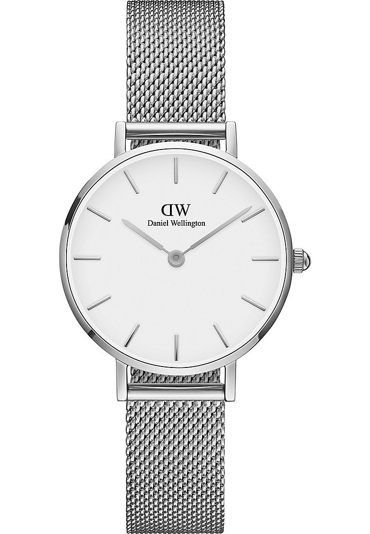 100% Original Reliable Accessories Daniel Wellington PETITE STERLING 28MM Watch silver 1zrUhH128 JXAxUrIXg