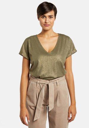 Print T-shirt - verde