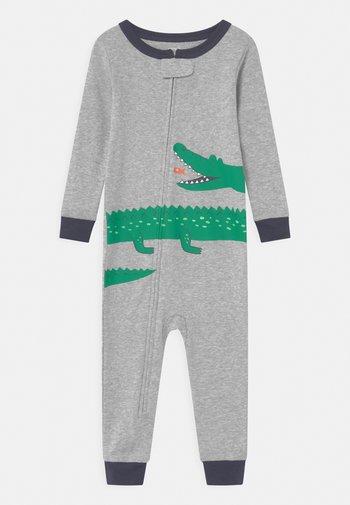 GATOR - Pyjamas - mottled grey/green