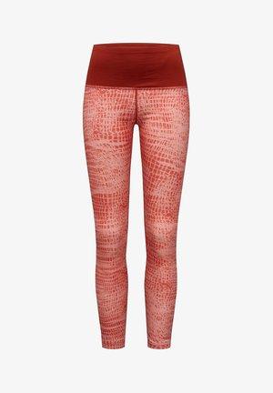 MERINO  - Leggings - light red