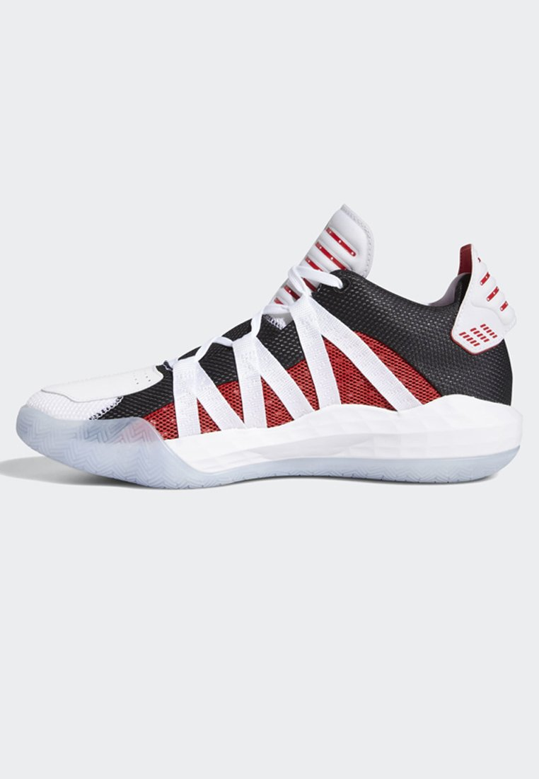 adidas Performance DAME 6 SHOES - Basketballschuh - white/weiß - Herrenschuhe RdBYE