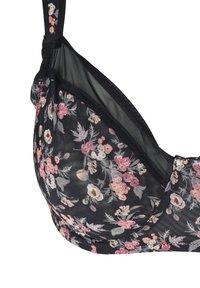 Devoted By Zizzi - FREJA  - Underwired bra - flower print - 4