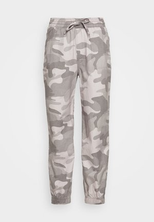 DRAPEY - Trousers - grey