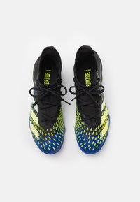 adidas Performance - PREDATOR FREAK .3 TF UNISEX - Astro turf trainers - core black/footwear white/solar yellow - 3