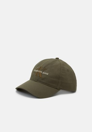 MONOGRAM UNISEX - Cap - olive night