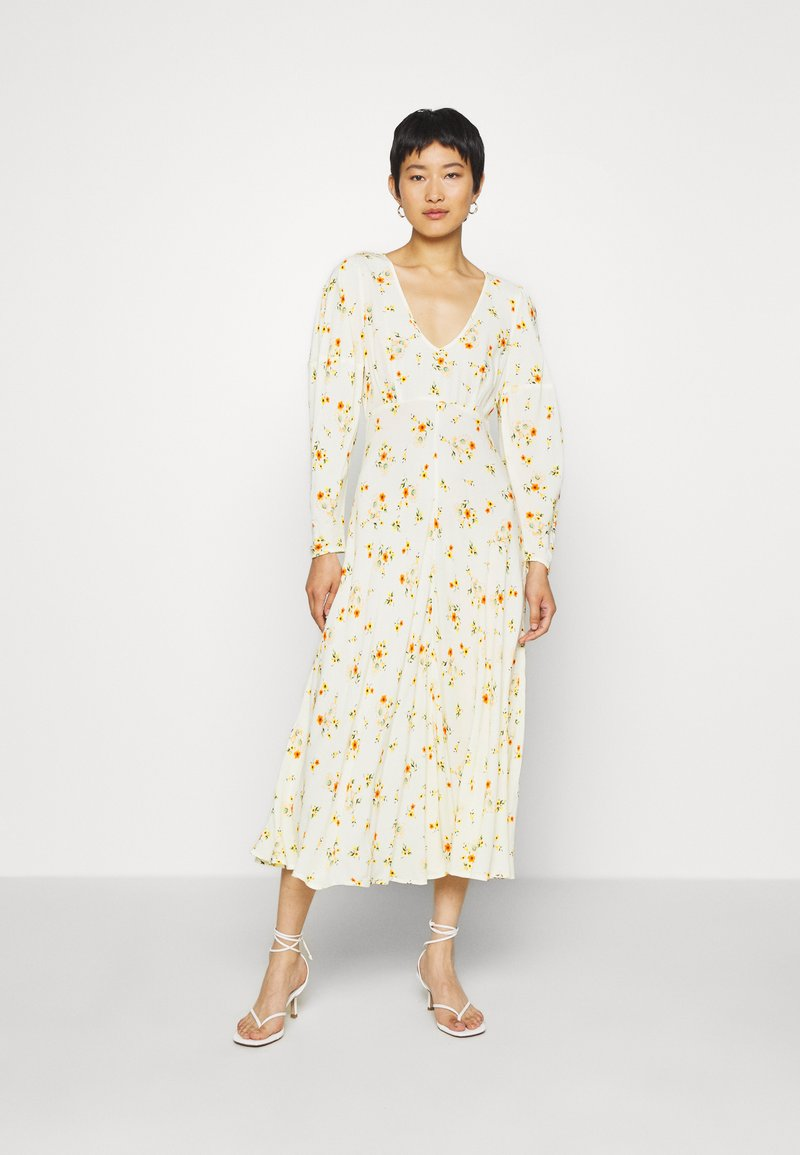Ghost - DRESS - Cocktail dress / Party dress - yellow