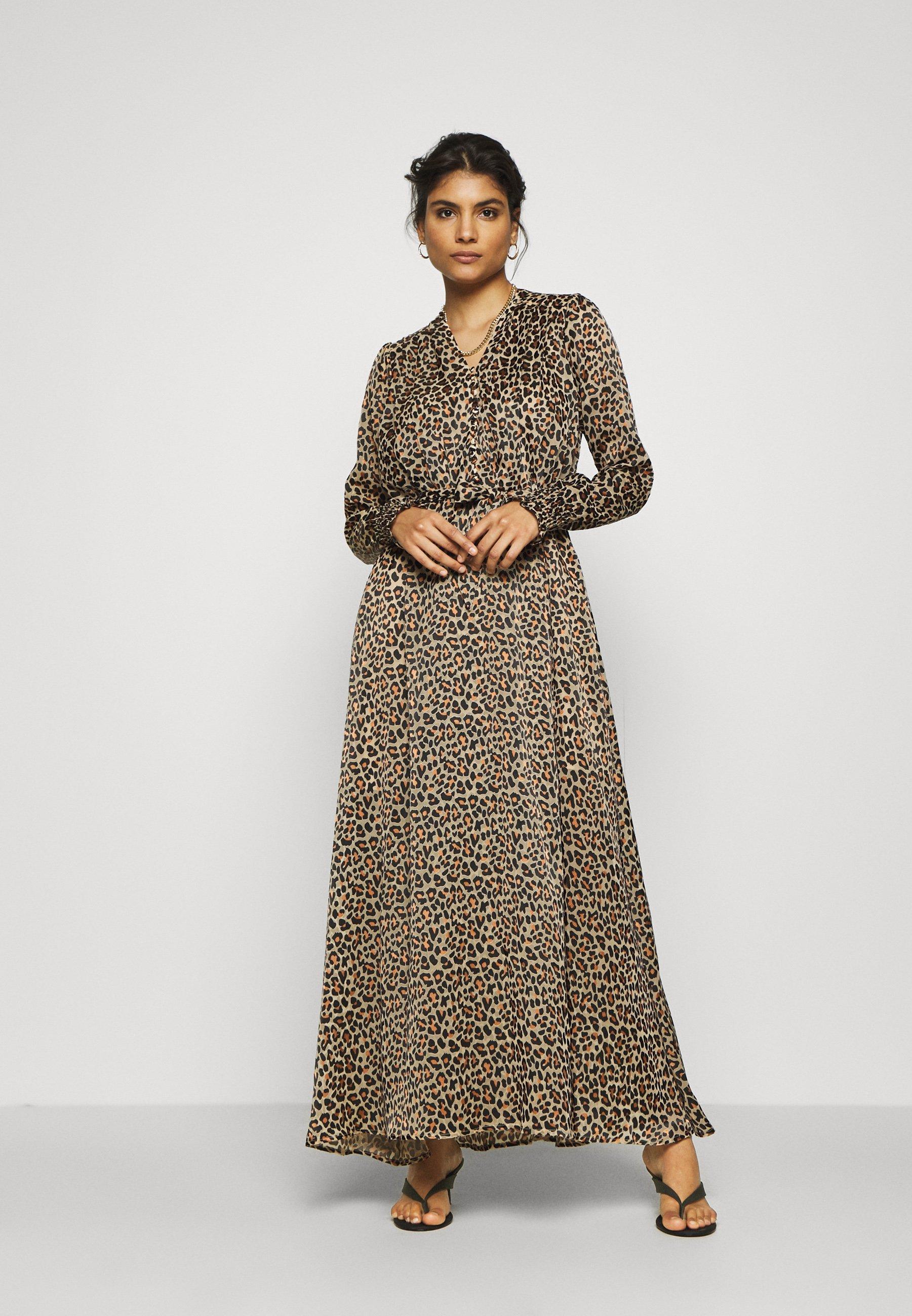 Factory Sale Women's Clothing Birgitte Herskind PAULA DRESS Maxi dress brown AN2agDW3T