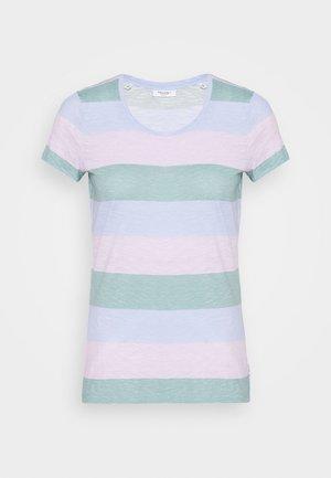 SHORT SLEEVE STRIPE - Camiseta estampada - multi
