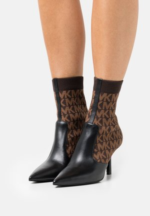SHILOH BOOTIE - Classic ankle boots - black/brown