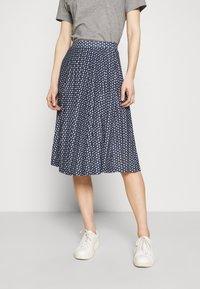 Marks & Spencer London - A-line skjørt - dark blue - 0