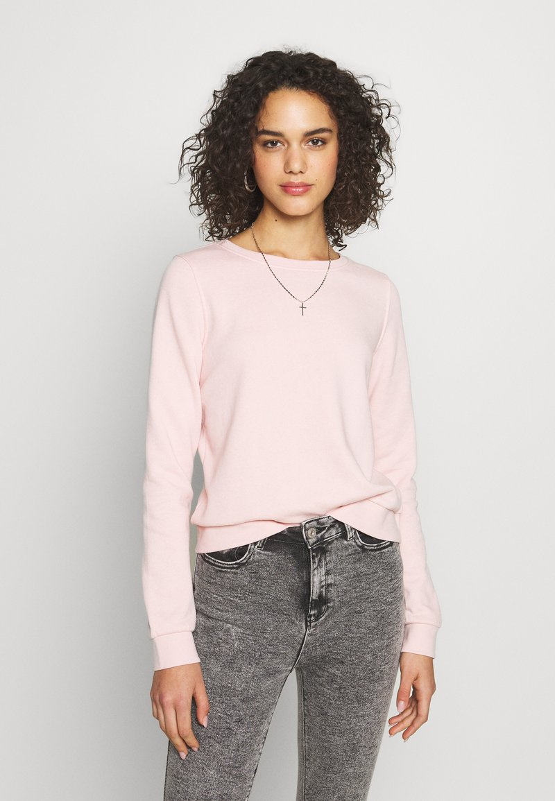 ONLY - ONLWENDY ONECK - Sweatshirt - light pink