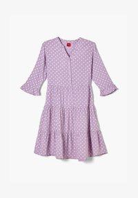 s.Oliver - Korte jurk - purple aop - 0