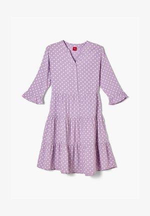 Day dress - purple aop