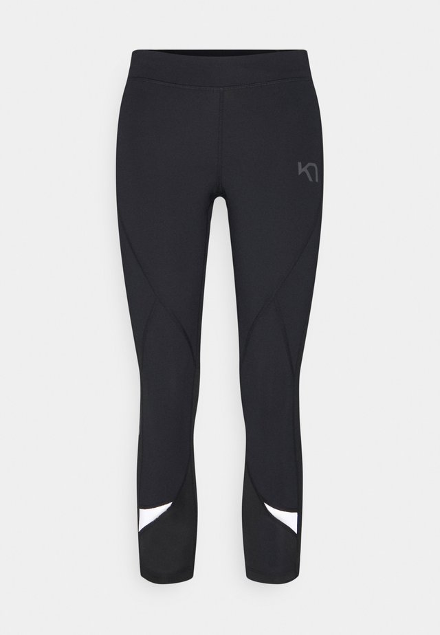LOUISE - Legginsy - black