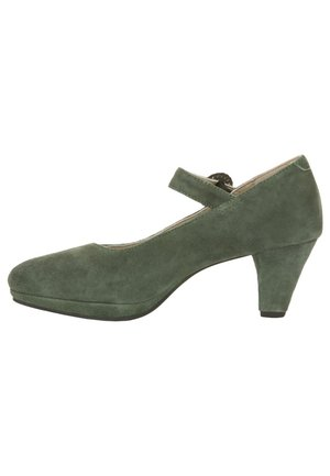 Classic heels - dunkelgrün