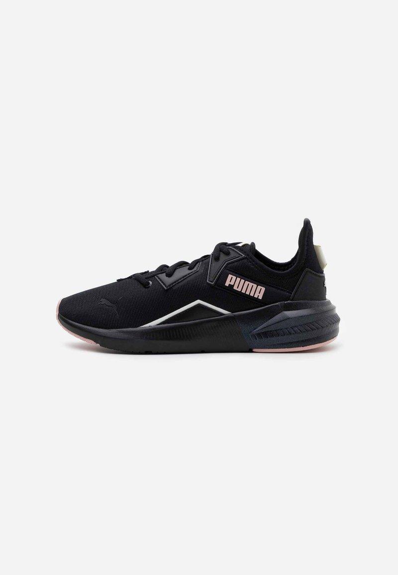 Puma - PLATINUM SHIMMER - Sports shoes - black/peachskin