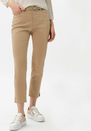 STYLE CARO S - Trousers - sand