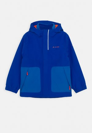 KIDS CAMPFIRE 3IN1 JACKET IV - Outdoor jacket - signal blue