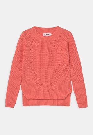 GILLIS - Pullover - burnt coral