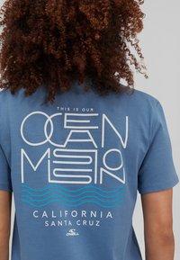 O'Neill - PACIFIC OCEAN - Print T-shirt - walton blue - 1