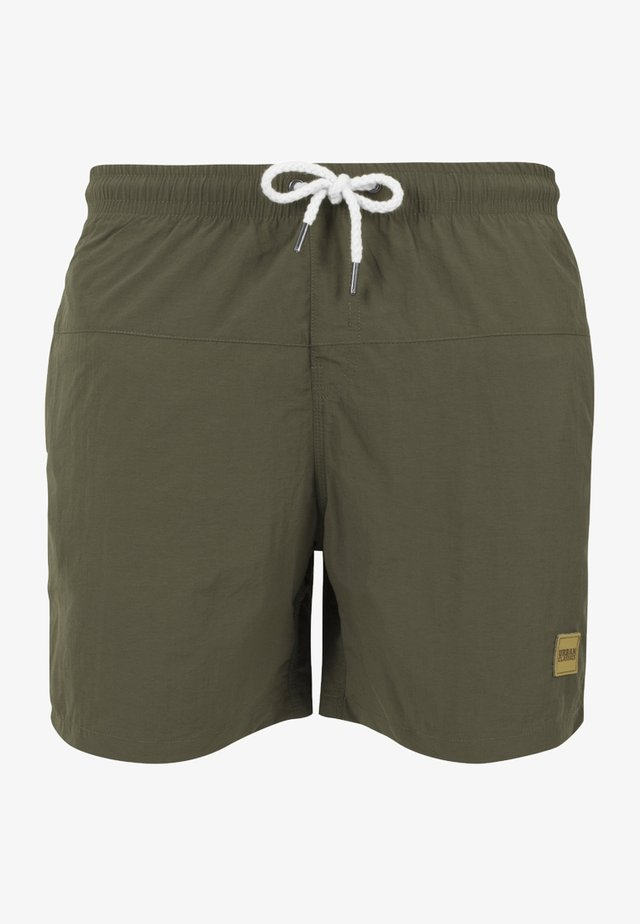 BLOCK - Shorts da mare - olive