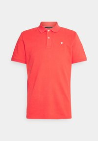 BASIC WITH CONTRAST - Polo shirt - plain red