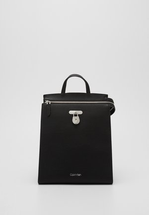 DRESSED BUSINESS BACKPACK - Rucksack - black