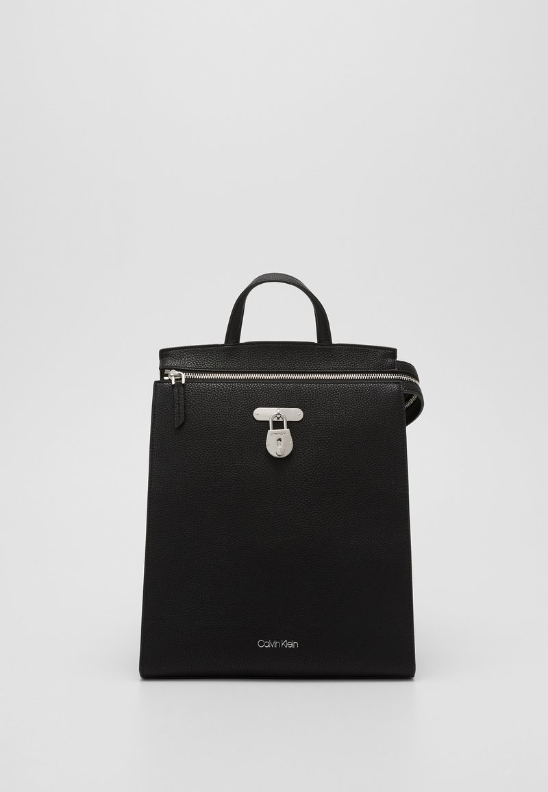 Calvin Klein - DRESSED BUSINESS BACKPACK - Rucksack - black