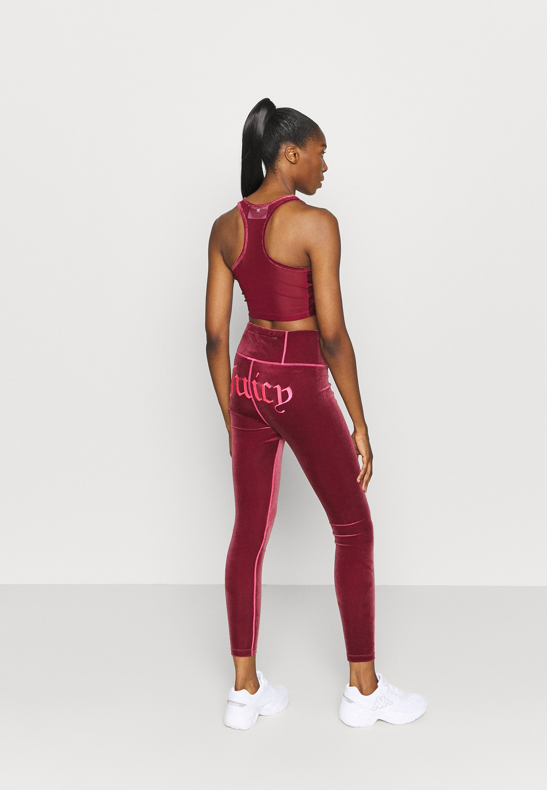 Juicy Couture BRENNA - Leggings - cabernet UPbLf