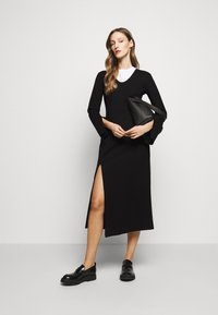 House of Dagmar - MILANA - Vestito di maglina - black - 1