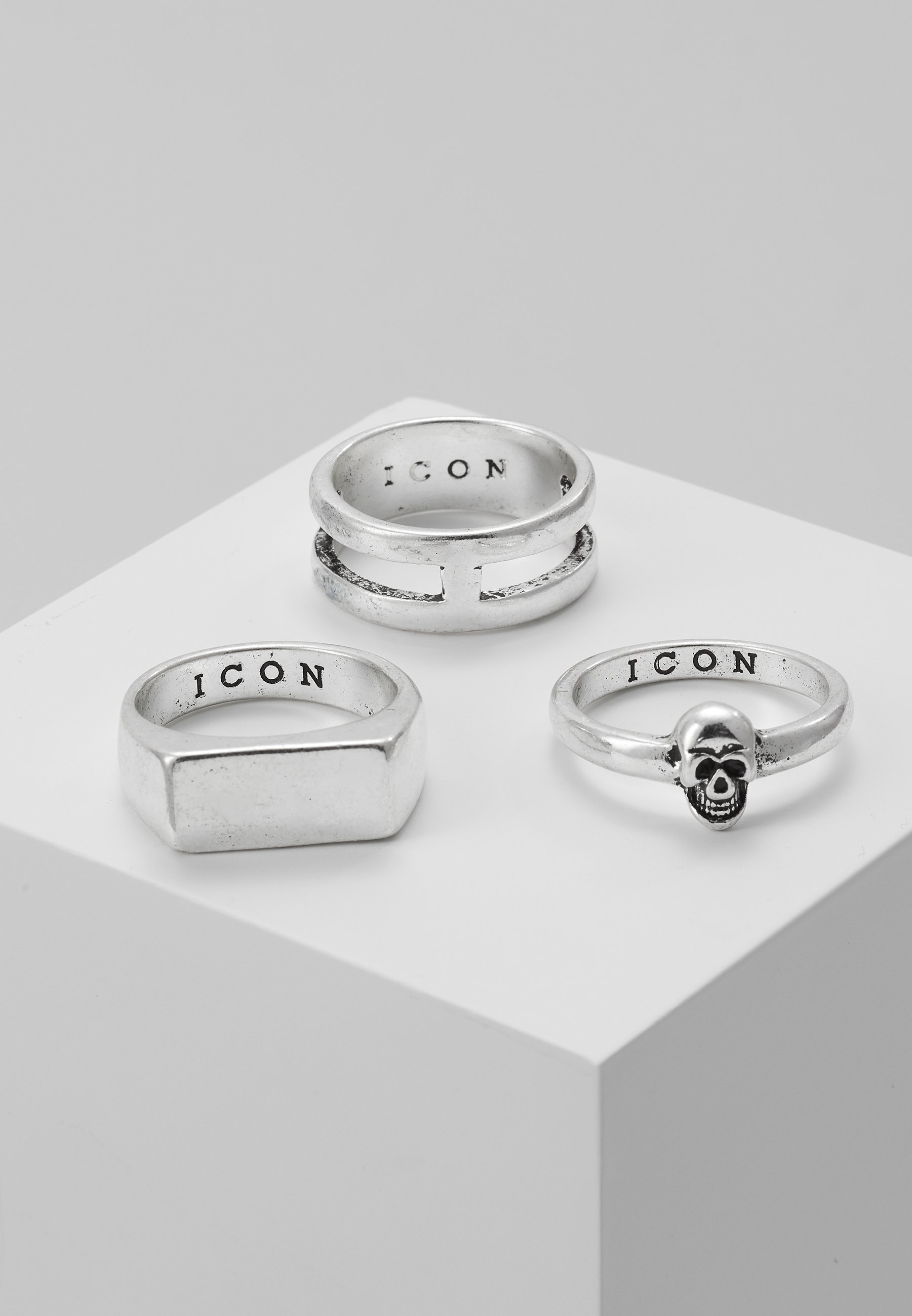 Homme LINEAR RING 3 PACK - Bague